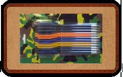 Стрелы для арбалет-пистолета - четыре цвета