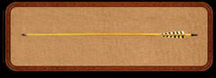 """Стрела для традиционного лука WTP-7 - 30"""" карбон"""