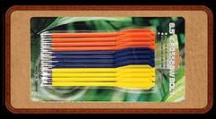 Стрелы для арбалет-пистолета - пластик три цвета