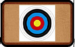 Мишень FITA - картон 60см