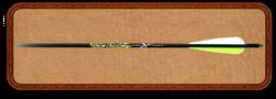 """Стрела для арбалета PileDriver - 22"""" карбон"""