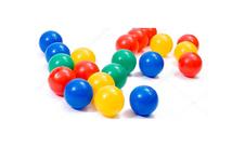 Пластиковые шарики