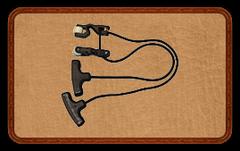 Веревка для взведения арбалета