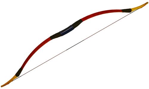 Традиционный лук WTB1 - красный