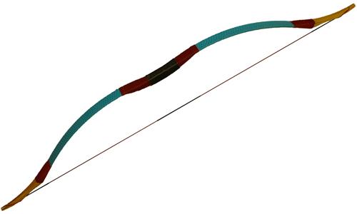 Традиционный лук WTB1 - синий