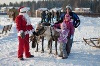 Новогодняя ярмарка прошла в поселке Пестово