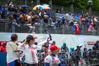 Сборная команда России по стрельбе из лука завоевала 1 золотую, 2 серебряные и 3 бронзовые медали в пятый день чемпионата мира в Нидерландах.