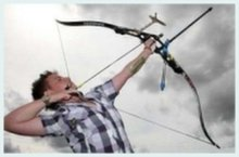 Стрельба по движущимся мишеням из лука