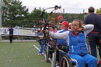 Сахалинцы потренировались в стрельбе из лука вместе с паралимпийской сборной России
